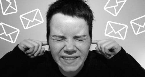 """When it comes to subject lines, boring works best"", Claire Trévien"
