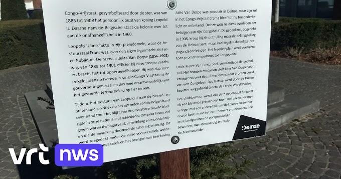 Controversieelgedenkteken voor koloniale bevelhebber krijgt bordje met uitleg in Deinze