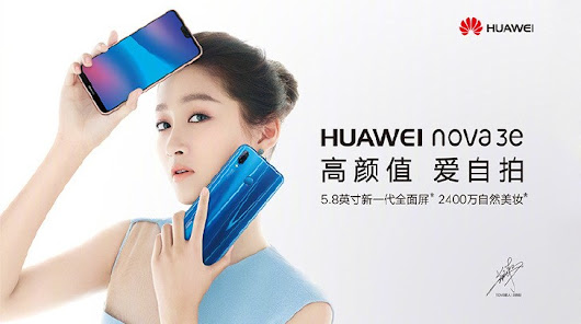 Huawei P20 Lite Officially Unveiled In China As 'nova 3e' - GoTech