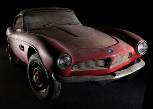 After four decades of storage, Elvis's BMW 507 to undergo restoration | Hemmings Daily