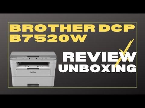Configuração da Brother DCP B7520DW