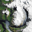 Climate Change: Images of Change: South Patagonian glacier beats a hasty retreat