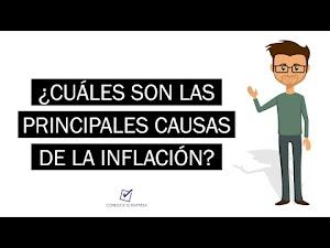 ¿Cuáles son las causas de la inflación? | Consecuencias y medidas correctivas