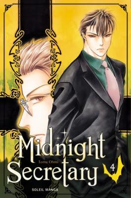 Couverture Midnight Secretary, tome 4