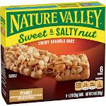 Nature Valley Sweet & Salty Nut Peanut Granola Bars - 6ct