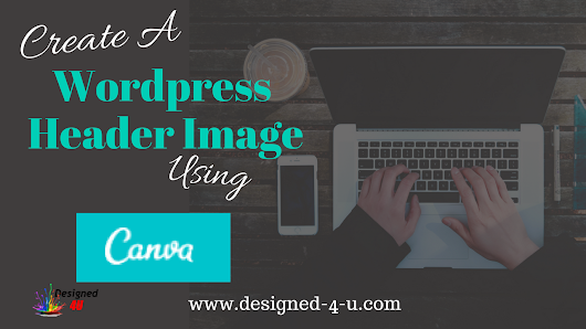 Create a Wordpress blog header image using Canva