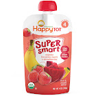 Happy Tot Super Smart Stage 4 Bananas, Beets and Strawberries Organic Toddler