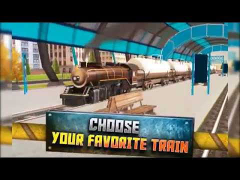 Real Euro Train Simulator - Best 3D Driving Game