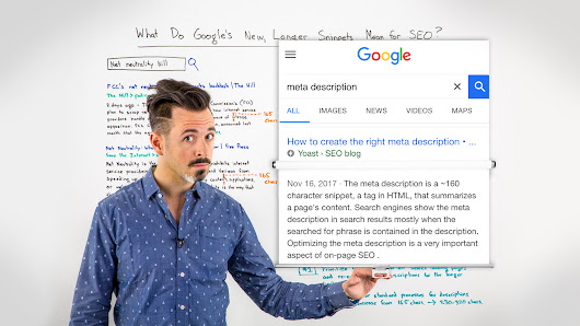 What Do Google's New, Longer Snippets Mean for SEO? - Whiteboard Friday