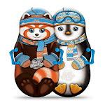 Sno-Storm 36in Foam Winter Kiddy Snow Sled 2-Pack