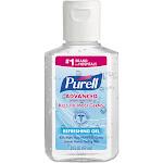 Purell Advanced Hand Sanitizer Refreshing Gel, Clean Scent, 2 Oz, Squeeze Bottle, 24/Carton - GOJ960524