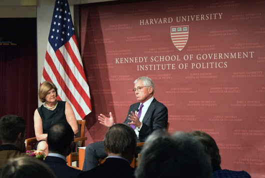 Former Defense Secretary Hagel Calls Trump 'Not a Republican Leader'  | News | The Harvard Crimson