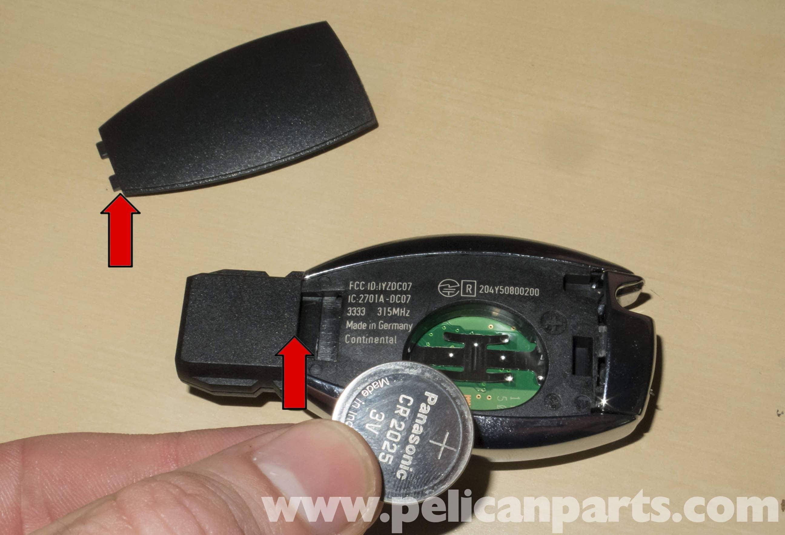 Mercedes-Benz W211 Remote Key Programming & Battery ...