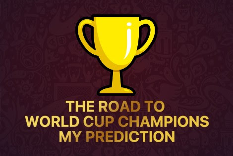 Who will win the World Cup? Come to make your own prediction on all the winners!