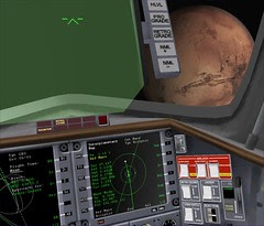 Mars approach with IMFD Screens