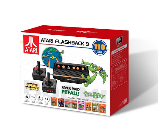 The Official Game List for the AtGames Atari Flashback 9 (2018) - Armchair Arcade