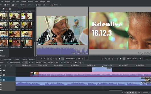 Kdenlive 16.12.3 is out | Kdenlive