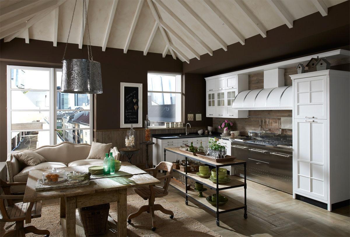 Uniquely Designed Vintage Kitchens - Decoholic