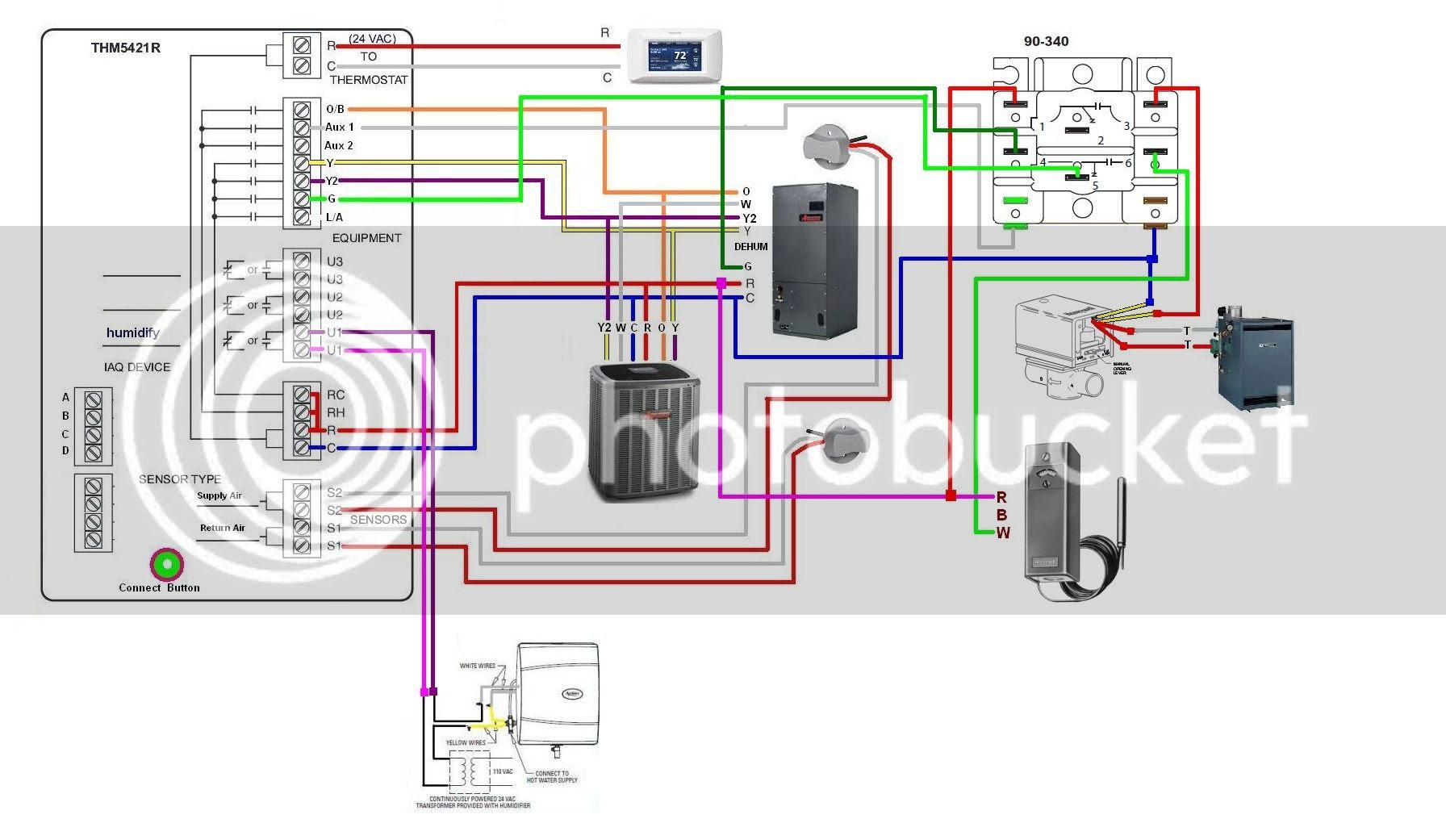 Honeywell Boiler Aquastat Wiring Diagram