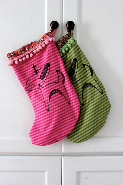 Handmade Christmas Stockings!