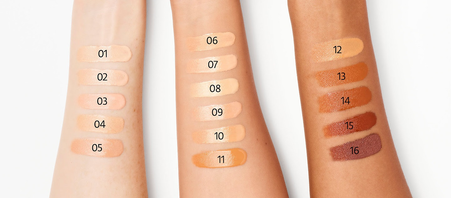 SEPHORA COLLECTION Make No Mistake High Coverage Concealer Swatches