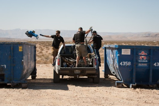 14.54 Tons of Trash Removed from the Nevada Desert at the Inaugural Mint 400 Dash for Trash Desert Clean Up -