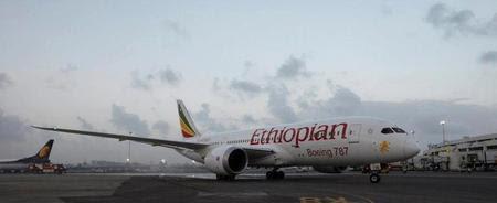 Ethiopian's 787 in Mumbai