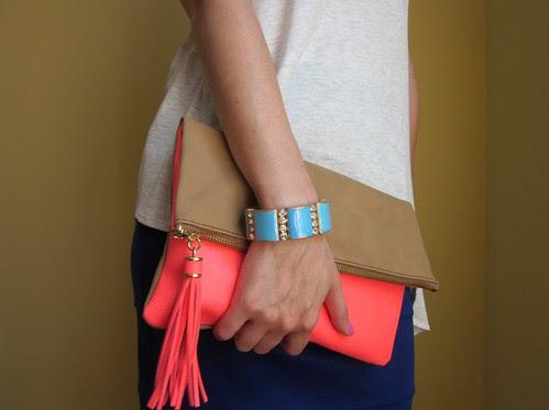 asymmetric & blue