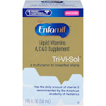 Enfamil Tri-Vi-Sol Vitamins A, C, D Dietary Supplement Drops, Infant - 1.69 fl oz