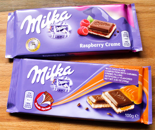 Product Review: Milka Chocolate - Suzie The Foodie