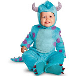 Monsters University Classic Sulley Infant Halloween Costume, Infant Boy's