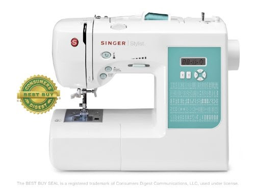 Sewing Machine Threading Instructions: SINGER 7258 Stylist ...