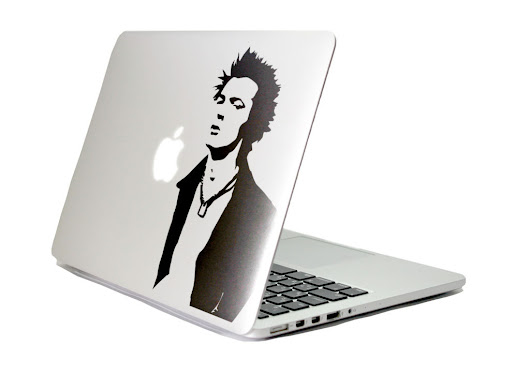 MacBook ステッカー新作情報 UK PUNK | WOLFING MAGAZINE