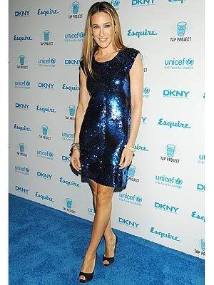 Sarah Jessica Parker at UNICEF fundraiser