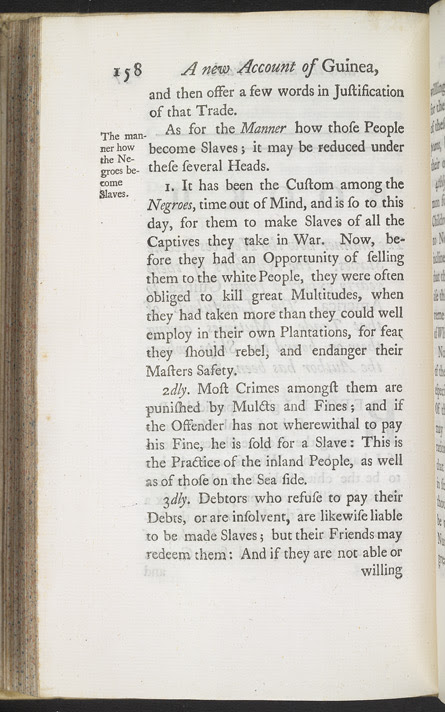 A New Account Of Some Parts Of Guinea & The Slave Trade -Page 158