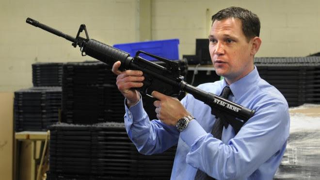 Stag Arms founder Mark Malkowski.