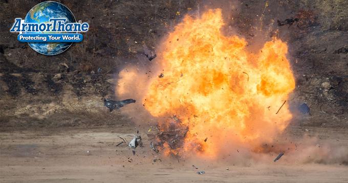 Using ArmorThane's Polyurea for Blast Protection