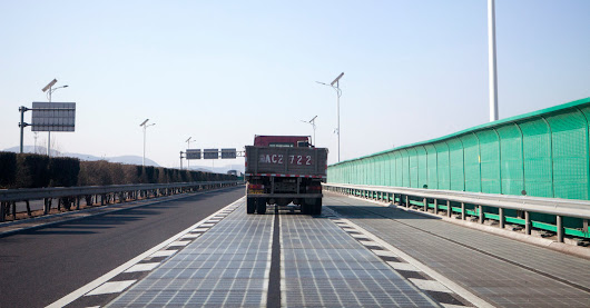 Free Power From Freeways? China Is Testing Roads Paved With Solar Panels