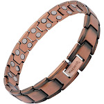 Copper Magnetic Therapy Bracelet for Men Classic Chain