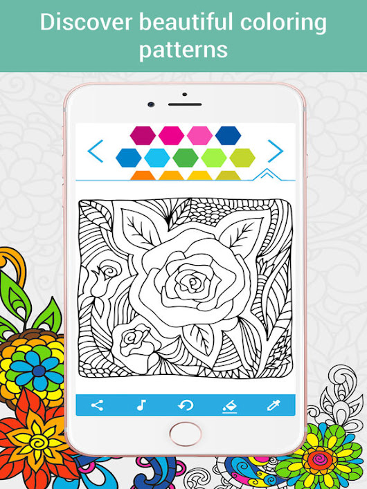 Coloring Book for Adults HoliColoring