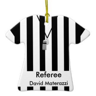 Referee Christmas Ornament ornament