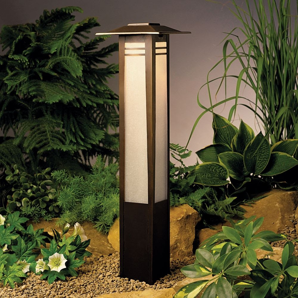 Kichler Low Voltage Bollard Path Light  15392OZ  Destination Lighting