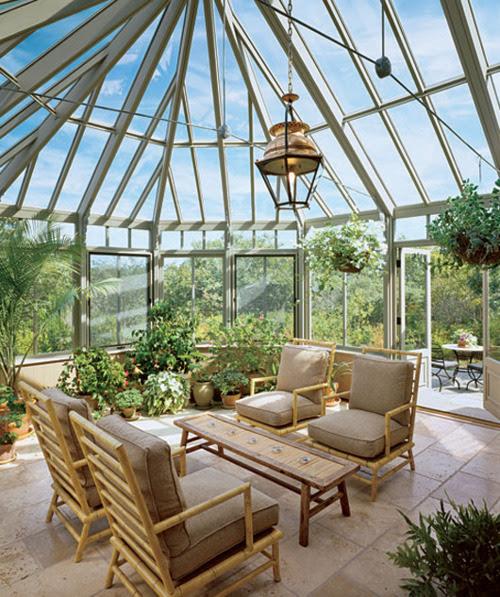 30 Inspirational Sunroom Design Ideas   HomeMydesign