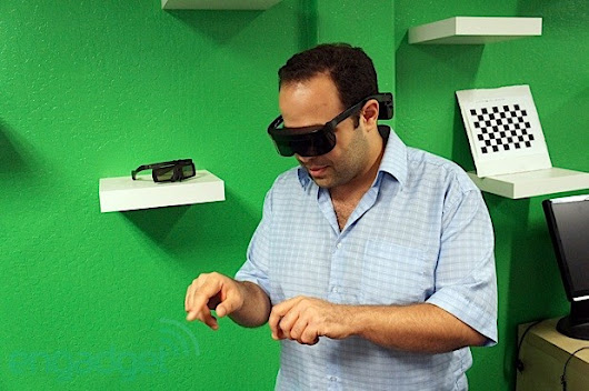 Atheer Labs unveils 3D augmented reality mobile platform and a natural human UI (hands-on)