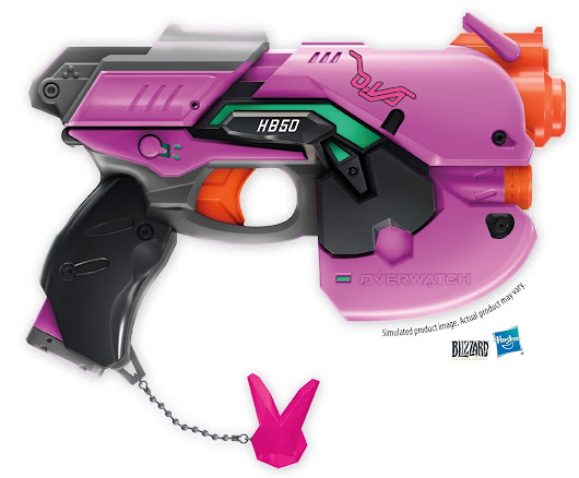 Nerf Is Bringing Overwatch's D.Va Blaster Pistol To Life Next | Tech My Money