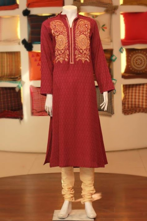Casual-Lawn-Womens-Girls-Kurta-Kurti-Collection-2013-by-Thredz-for-Ladies-12