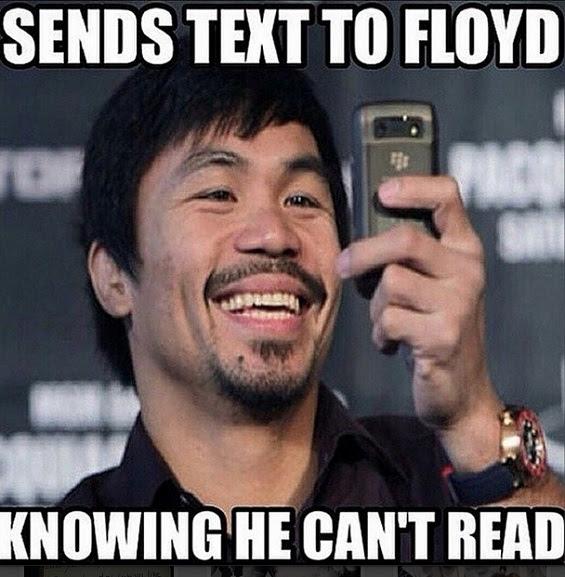 Floyd Mayweather, Floyd Mayweather ducking Pacquiao, Manny Pacquiao