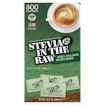 Stevia in the Raw Zero Calorie Sweetner, 1 g, 800-count