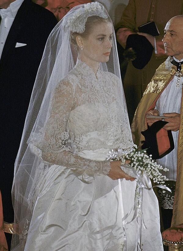 Grace Kelly Hochzeitskleid Standesamt - Hochzeit-Trauung-Party
