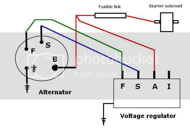 Ford Mustang 302 Alternator Wiring Harnes Diagram